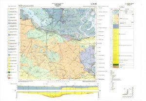 Osnovna geološka karta RH 1:100.000 list Osijek