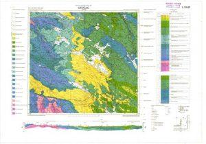 Osnovna geološka karta RH 1:100.000 list Otočac