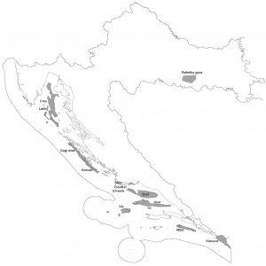 Osnovna geološka karta RH 1:50.000 geografsko geološke cjeline