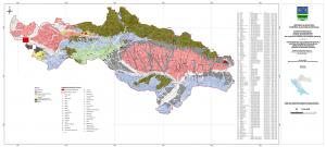 Karta geološke potencijalnosti Požeško-slavonske županije