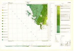 Osnovna geološka karta RH 1:100.000 list Pula