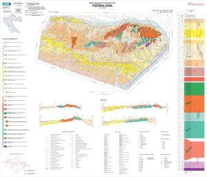 Osnovna geološka karta RH 1:50.000 Požeška gora