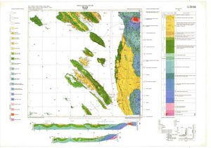 Osnovna geološka karta RH 1:100.000 list Rab