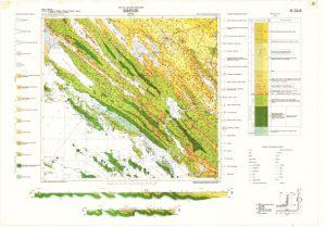 Osnovna geološka karta RH 1:100.000 list Šibenik