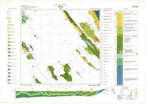 Osnovna geološka karta RH 1:100.000 list Silba