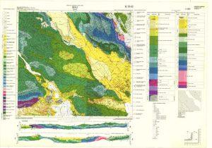 Osnovna geološka karta RH 1:100.000 list Sinj