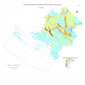 Karta geološke potencijalnosti Šibensko-kninske županije