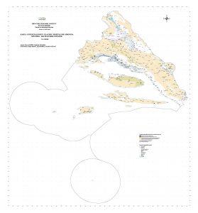 Karta potencijalnosti glavnih nemetalnih sirovina Splitsko-dalmatinske županije