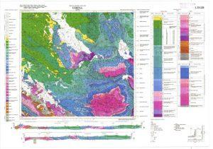 Osnovna geološka karta RH 1:100.000 list Udbina
