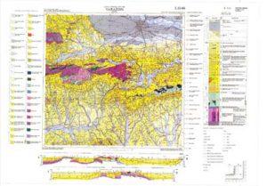 Osnovna geološka karta RH 1:100.000 list Varaždin