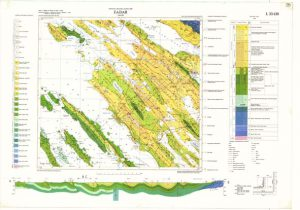 Osnovna geološka karta RH 1:100.000 list Zadar