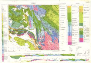 Osnovna geološka karta RH 1:100.000 list Kotor