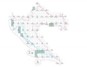 Osnovna geološka karta RH 1:50.000 shema listova