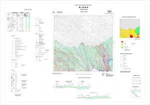 Osnovna hidrogeološka karta list Rijeka