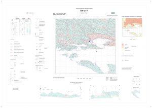 Osnovna hidrogeološka karta RH list Split