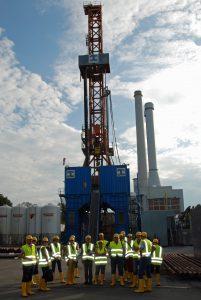 Posjet radilištu geotermalnih bušotina na jugu Minhena u sklopu projektne radionice