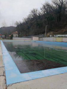 Tuhelj (Hrvatsko zagorje): stari bazen s termalnom vodom