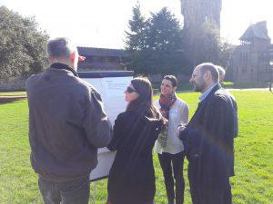 Projektni sastanak u dvorcu u Cardiffu MUHA projekt