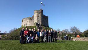 MUHA Projektni sastanak u dvorcu u Cardiffu