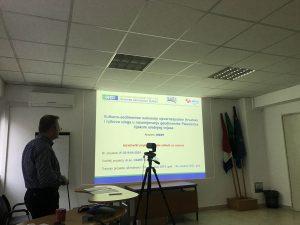 dr.sc. Damir Slovenec prezntira projekt GOST