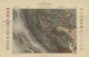 Arhivske karte Austro-Ugarske monarhije list Karlobag-Jablanac