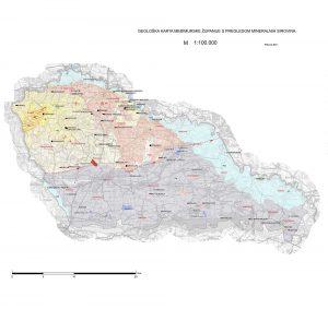 Karta mineralnih sirovina Međimurske županije