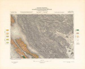 Arhivske karte Austro-Ugarske monarhije list Carlopago und Jablanac