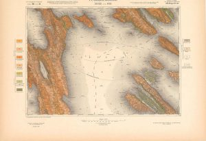 Arhivske karte Austro-Ugarske monarhije list Cherso und Arbe