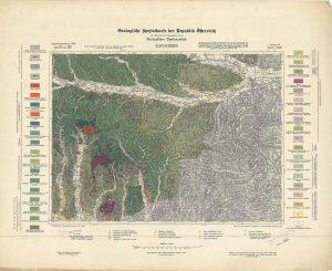 Arhivske karte Austro-Ugarske monarhije list Gleichenberg