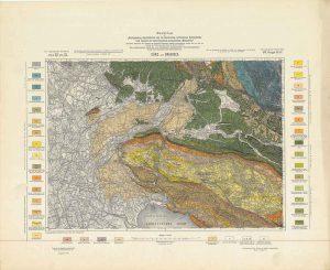Arhivske karte Austro-Ugarske monarhije list Gorz und Gradisca