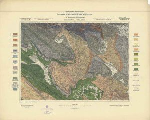 Arhivske karte Austro-Ugarske monarhije list Haidenschaft und Adelsberg