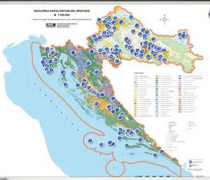 Interaktivni pregled geologije RH