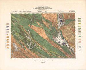 Arhivske karte Austro-Ugarske monarhije list Kistanje und Drnis