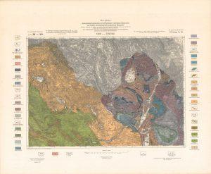 Arhivske karte Austro-Ugarske monarhije list Knin und Ervenik