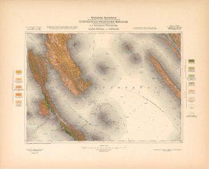 Arhivske karte Austro-Ugarske monarhije list Lussin Piccolo und Puntaloni