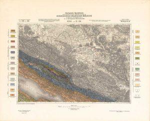 Arhivske karte Austro-Ugarske monarhije list Medak und Sv Rok