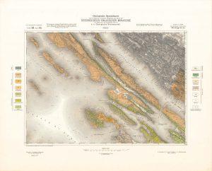 Arhivske karte Austro-Ugarske monarhije list Pago