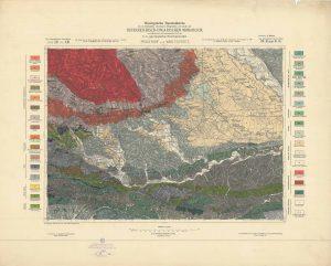 Arhivske karte Austro-Ugarske monarhije list Pragenhof und Wind Friestritz