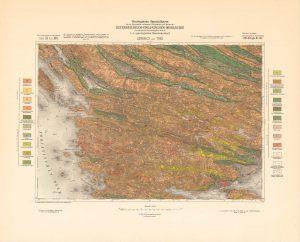 Arhivske karte Austro-Ugarske monarhije list Sebenico und Trau
