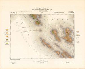 Arhivske karte Austro-Ugarske monarhije list Selve