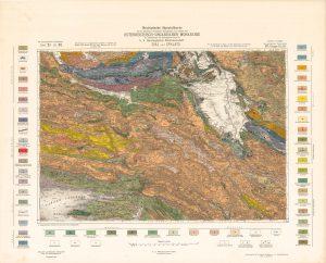 Arhivske karte Austro-Ugarske monarhije list Sinj und Spalato