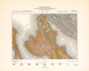Arhivske karte Austro-Ugarske monarhije list Veglia und Novi