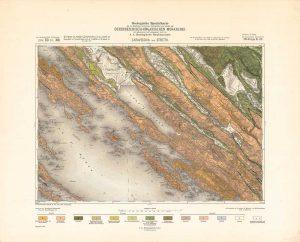 Arhivske karte Austro-Ugarske monarhije list Zaravecchia und Stretto
