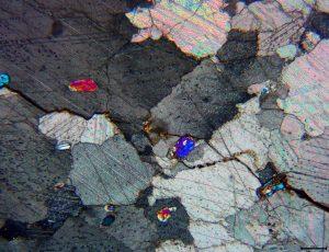 Mikroskopska slika mramora.