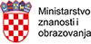 Ministarstvo znanosti i obrazovanja logo