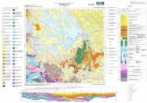 Osnovna geološka karta 1:100.000 Karlovac