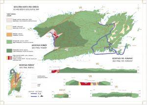 Geoturistička karta Geoparka Viški arhipelag