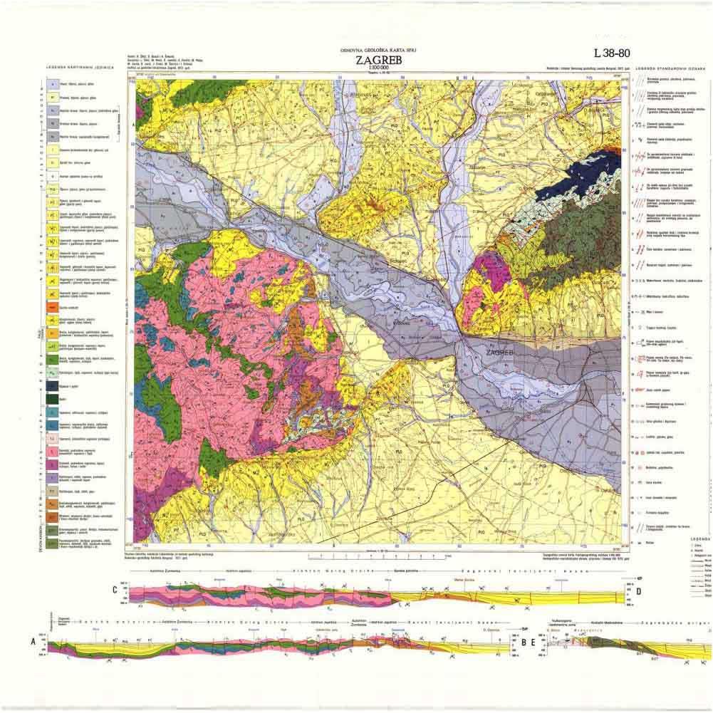 osnovna geološka karta