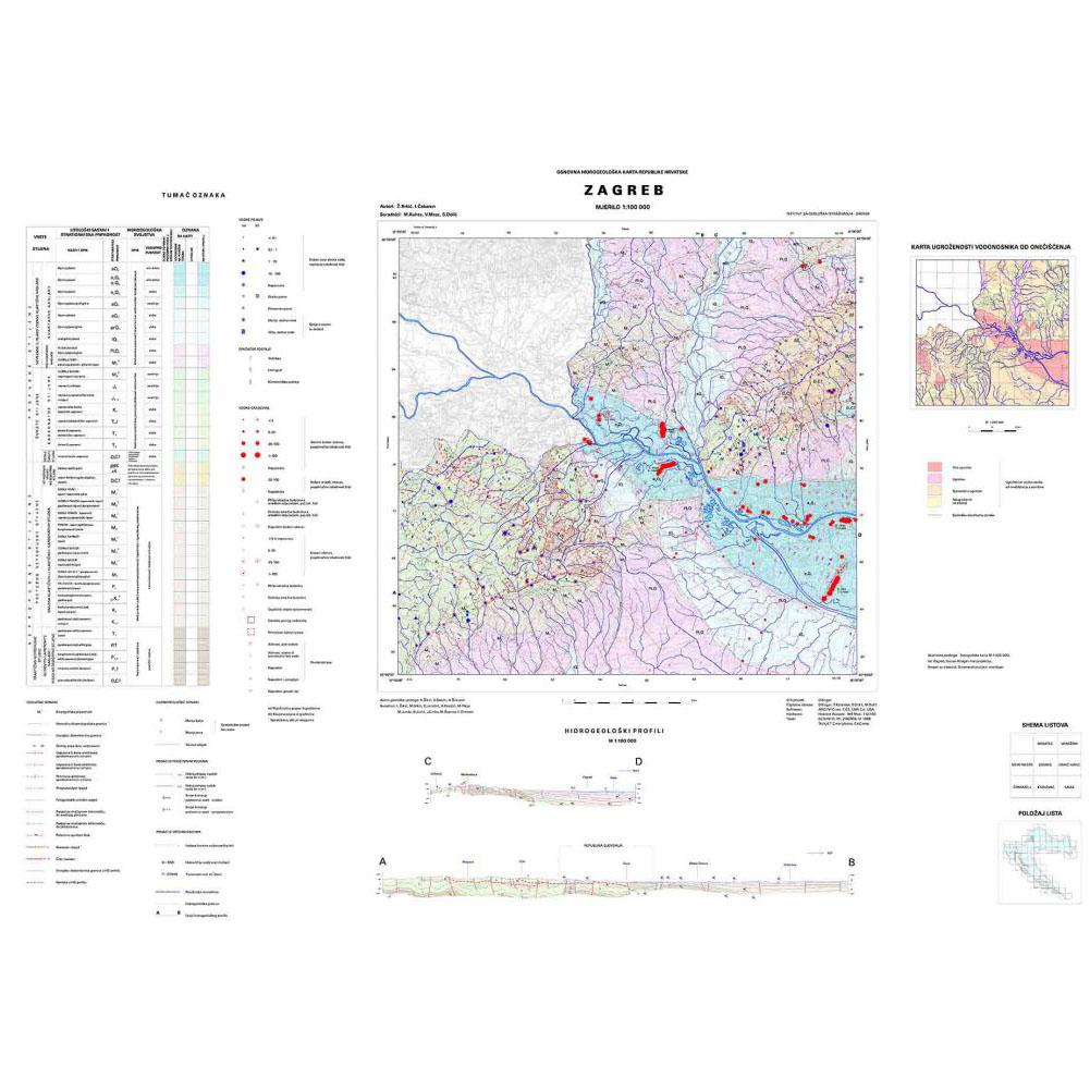 osnovna hidrogeološka karta