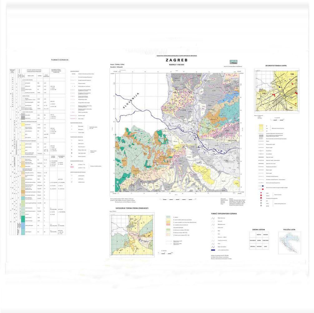 osnovna inženjerskogeološka karta